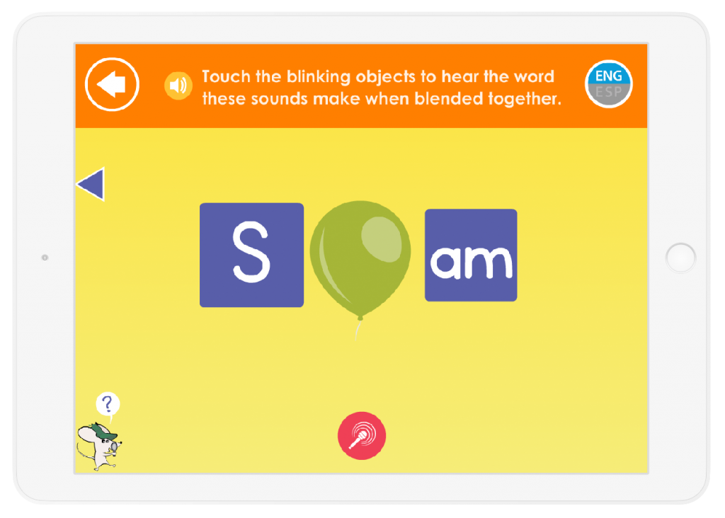 Your child will learn  how to sound out words