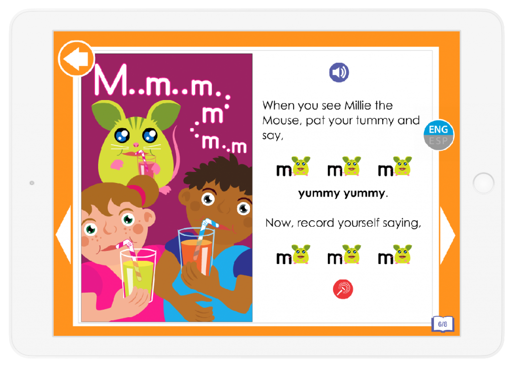 Your child will learn letter sounds