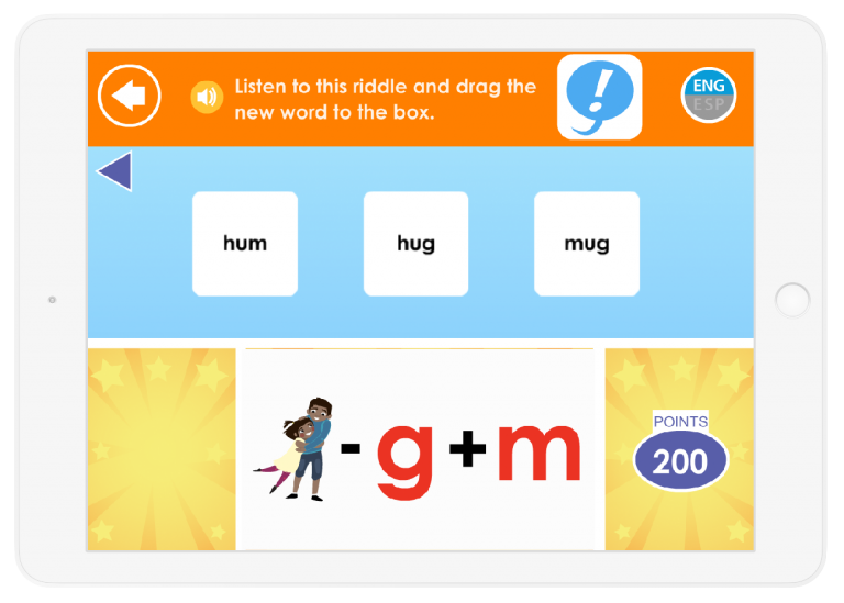 Your child will learn word play