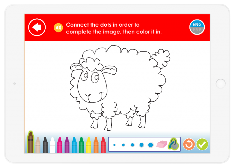 Your child will learn Colors and creativity