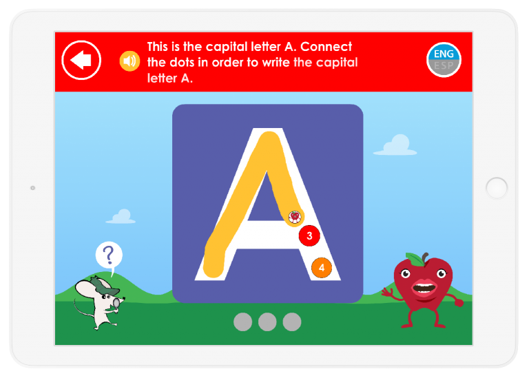 Your child will learn Letter names and sounds